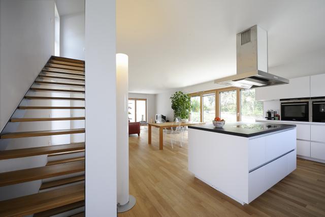stereoraum architekten w rrstadt haus im hang. Black Bedroom Furniture Sets. Home Design Ideas